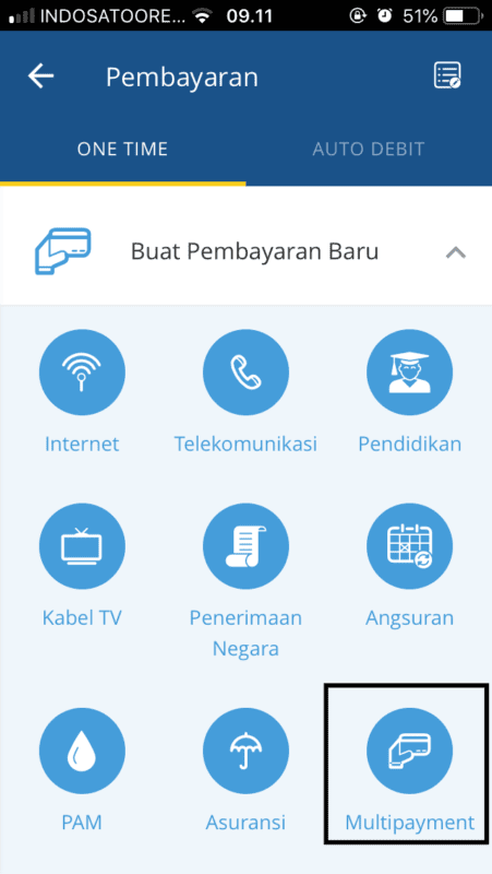 Virtual Account Mandiri mBanking