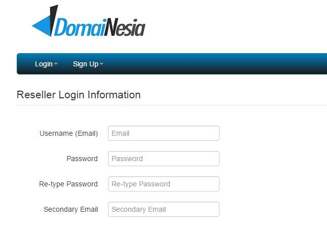 reseller domain id