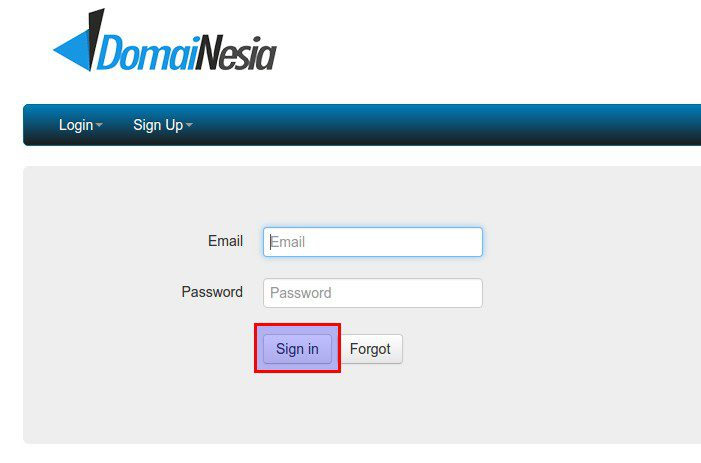 kontrol panel reseller domain id