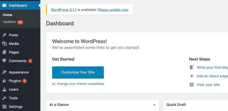cara login admin WordPress