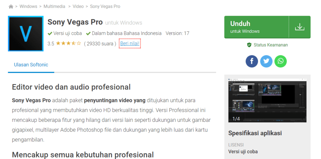 Daftar Software Edit Video